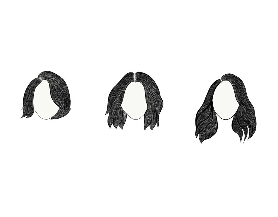 How Extensions Apply To Your Hair Length